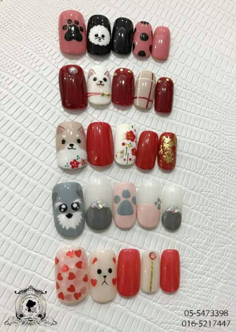 Nail Art For Chinese New Year 2018 - Best Nail 2018