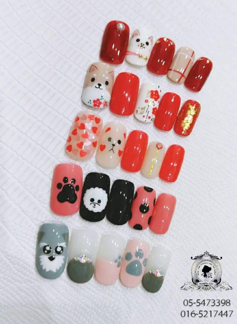 It\'s The Year Of Dog~ Have You Got Your Nails Done? - Naughty Girl